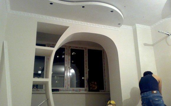 арки из гипсокартона фото