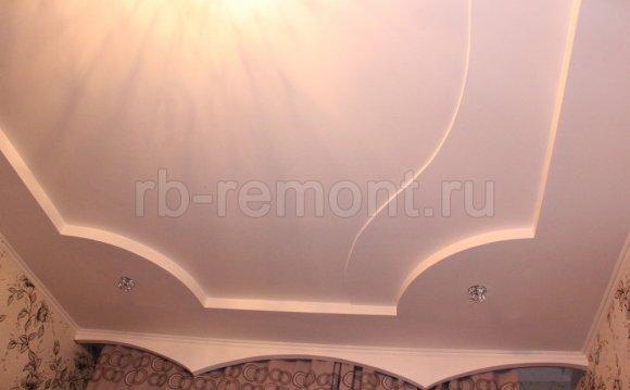 Как сделать потолки из