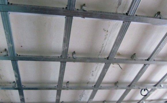 Многоуровневые потолки из