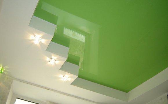 Натяжной потолок или