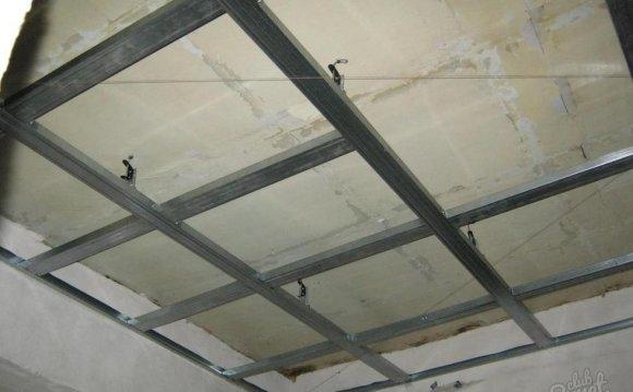 Подвесные потолки из