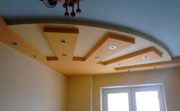 Потолки из гипсокартона в