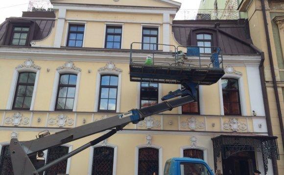 Москва - Шпаклевка потолка из